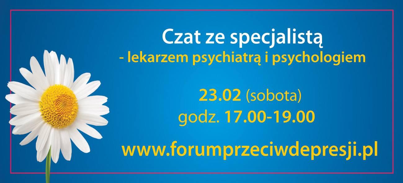 Depresja u nastolatków - czat ze specjalistą.