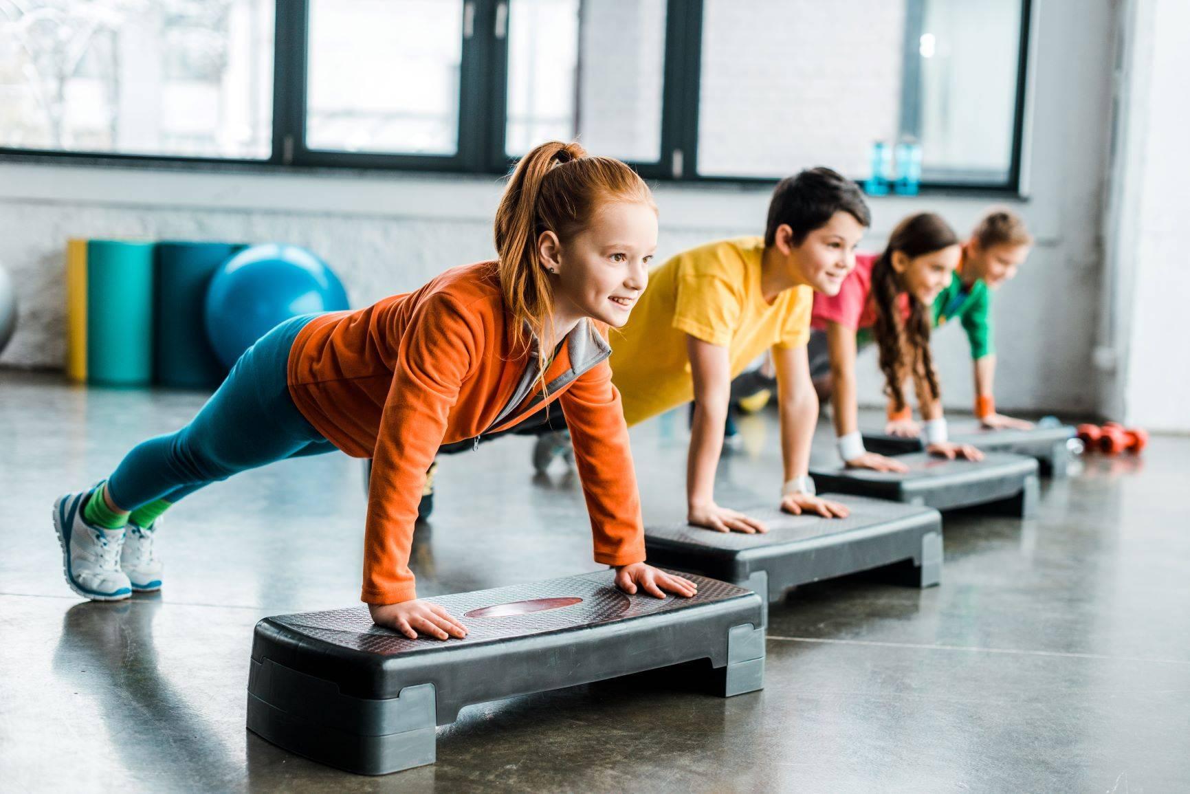 Aktywność fizyczna dla dzieci.