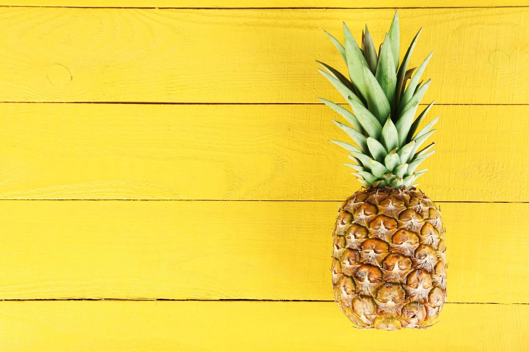 Ananas - wartości odżywcze, właściwości i zastosowanie.