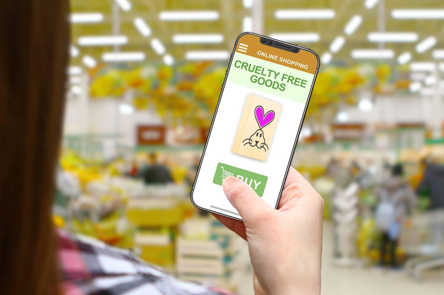 Aplikacje na telefon cruelty free - kosmetyki nie testowane na zwierzętach
