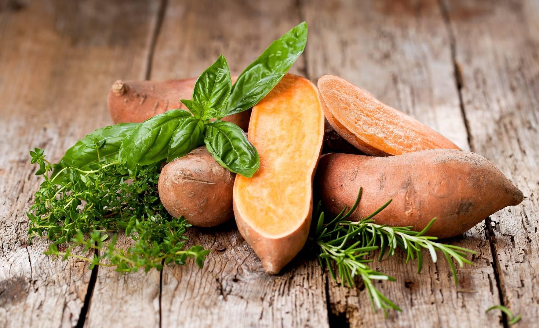 Bataty - słodkie ziemniaki. Przepisy z batatów.
