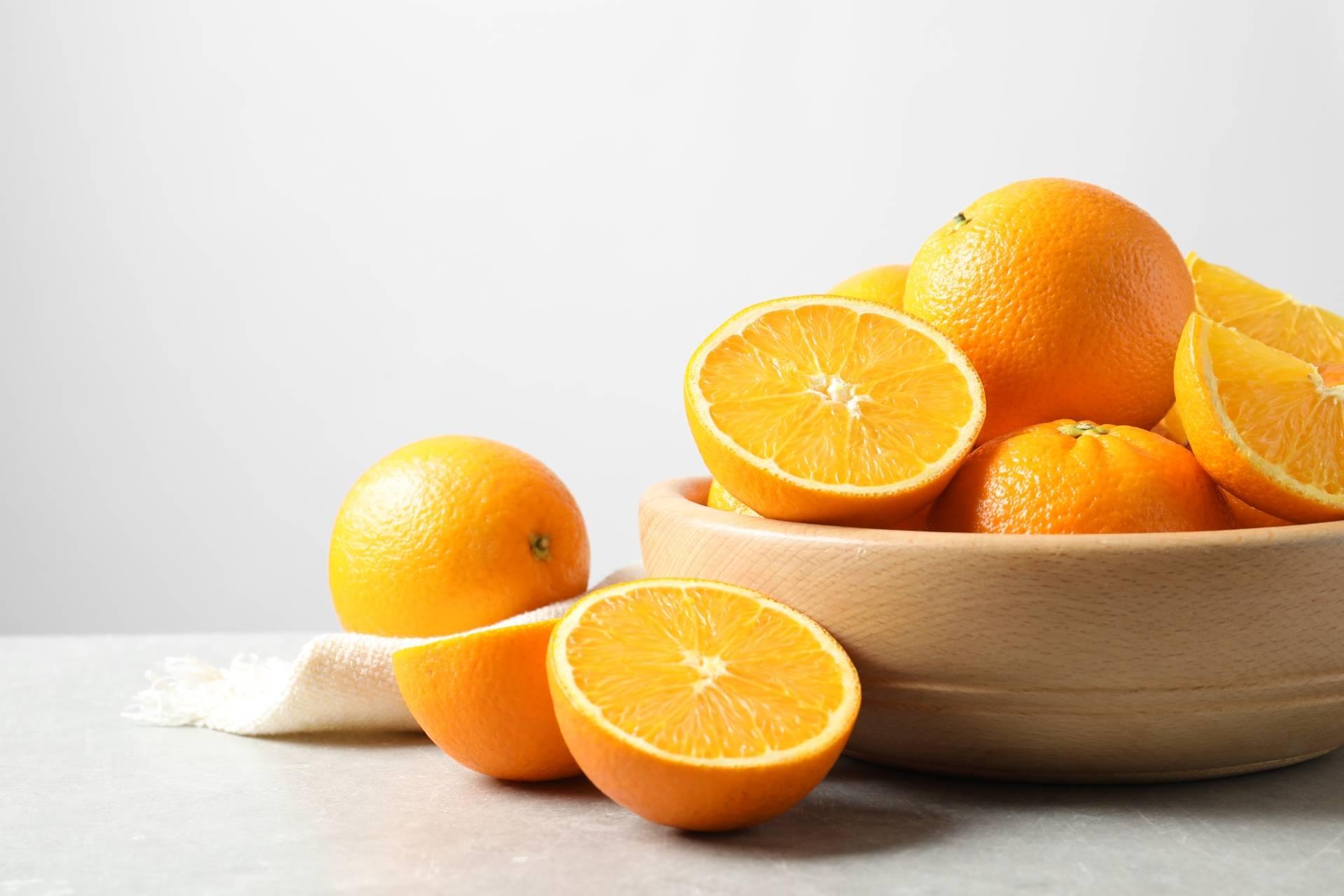 Dieta na stres - koktajl z pomarańczy