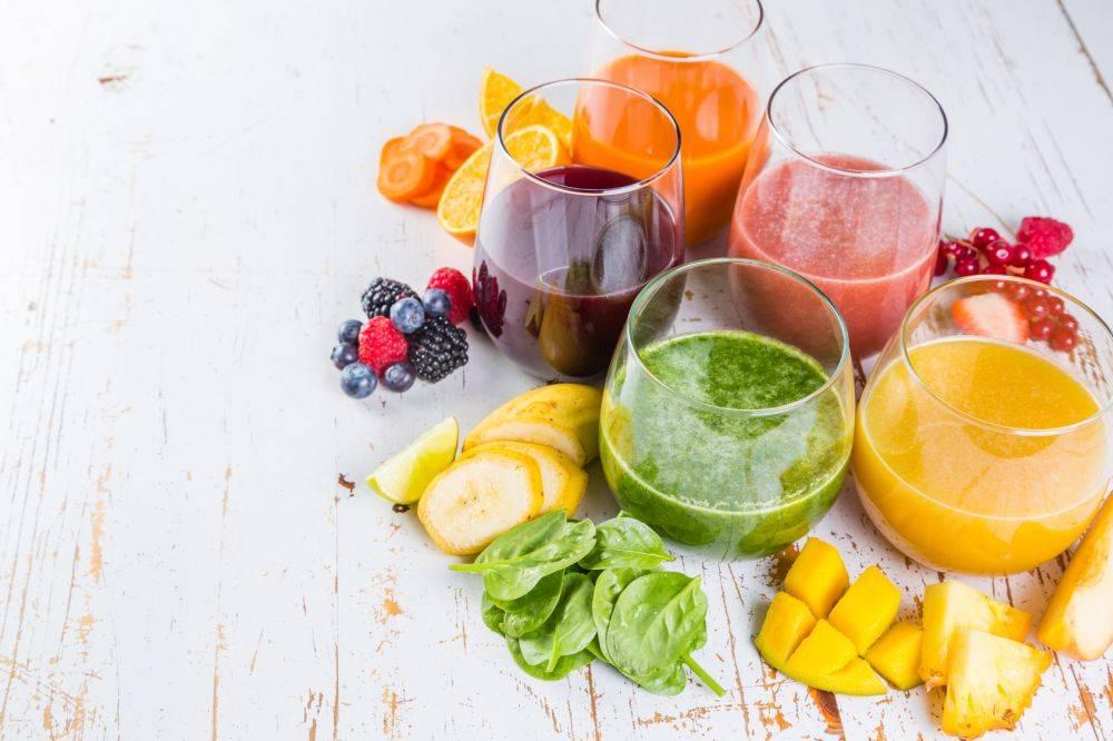 dieta owoce soki
