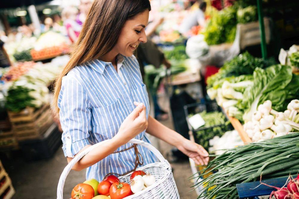 dieta warzywa zakupy