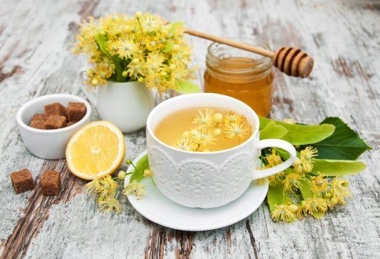 herbata z lipy na gorączkę, grypę i przeziębienie