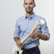 Hubert Pawlin - fizjoterapeuta i trener personalny.