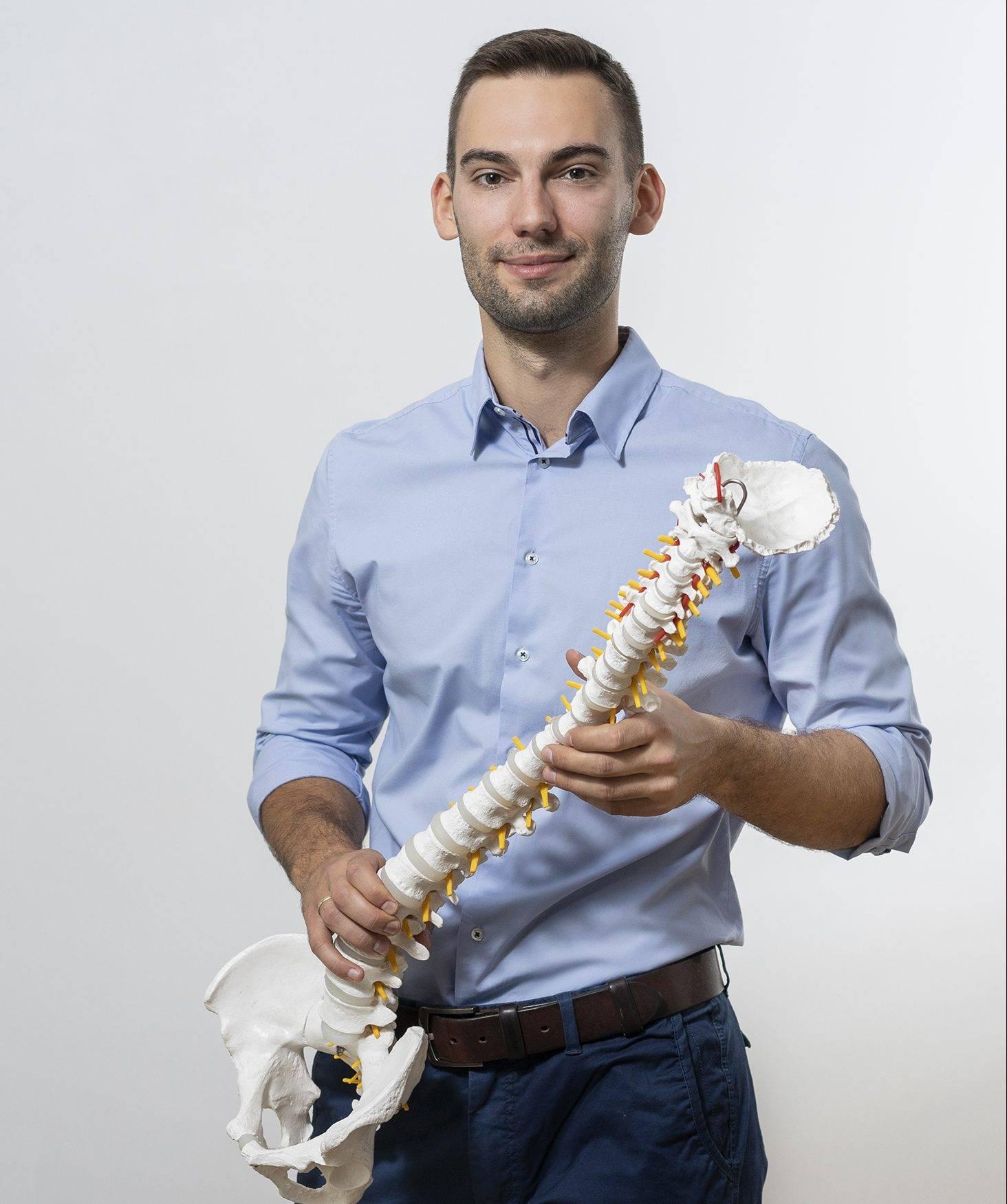 Hubert Pawlin - fizjoterapeuta i trener personalny | Naturalnie o Zdrowiu