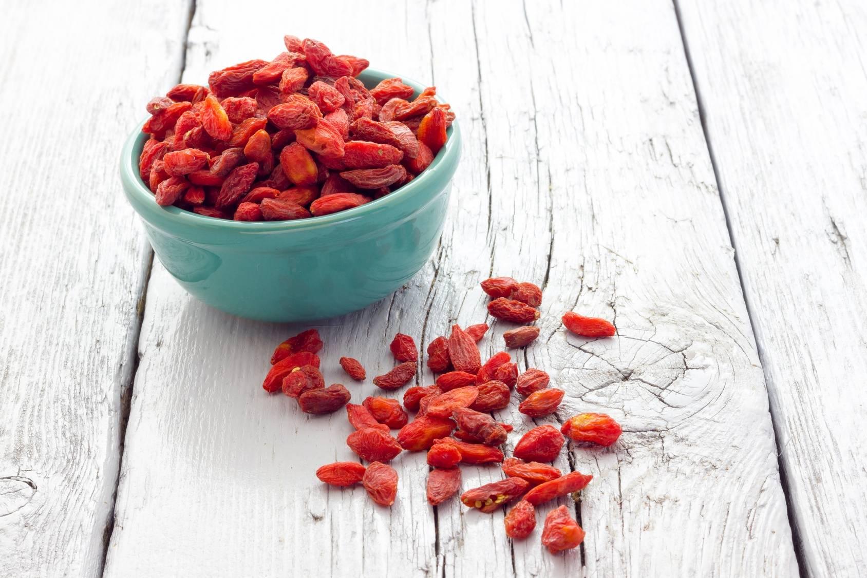 Jagody goji - dlaczego nie powinno się ich jeść zbyt dużo?