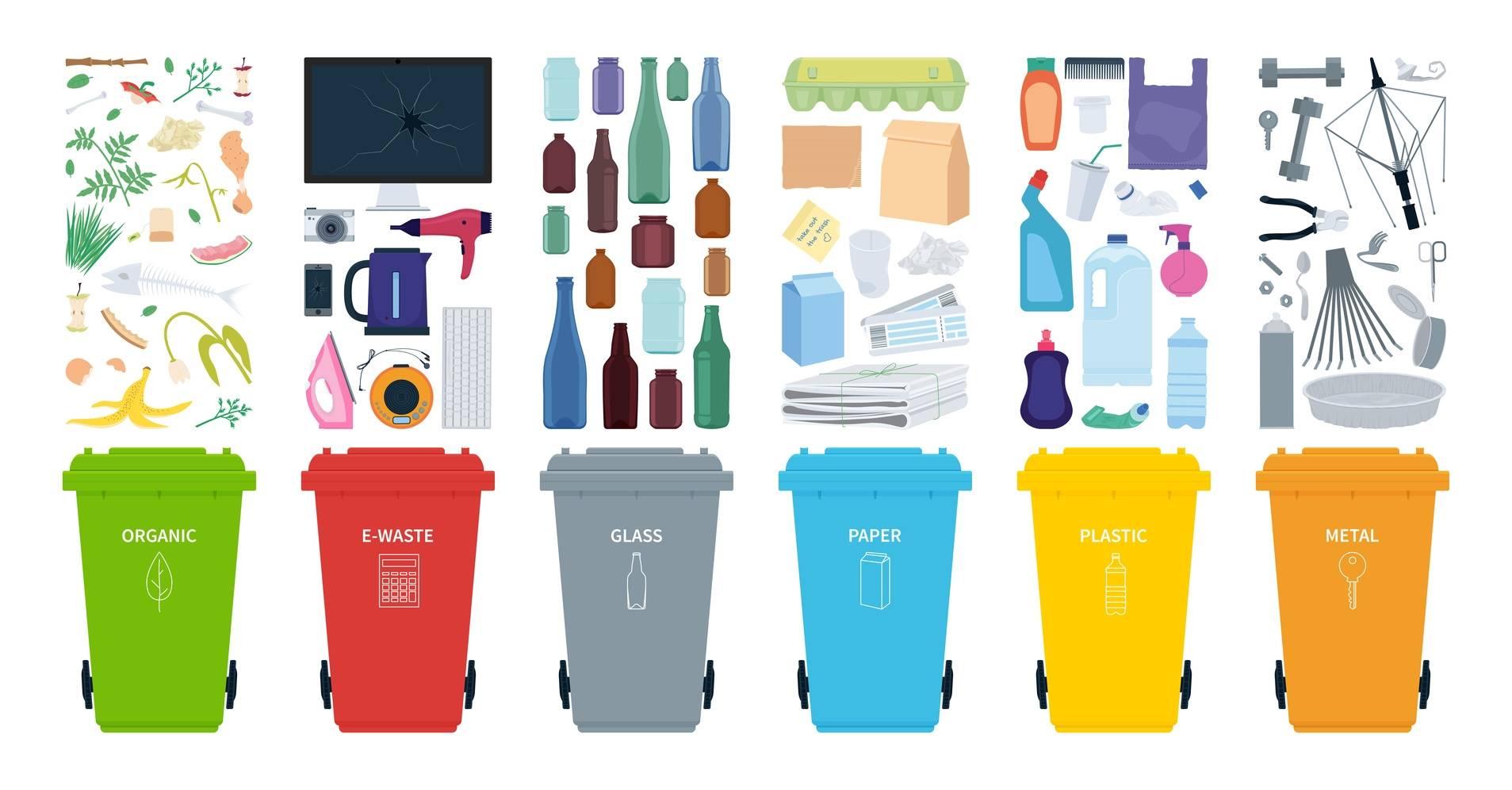 Recykling - jak segregować śmieci?
