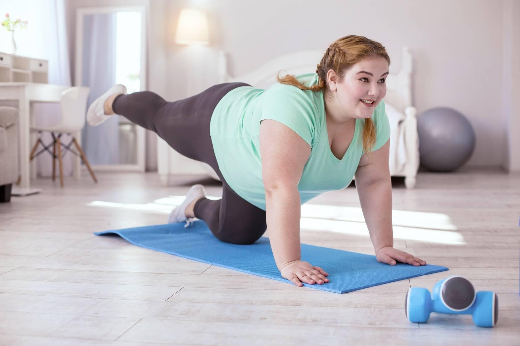 Otyłość - jak sobie z nią poradzić? Ćwiczenia fizyczne.