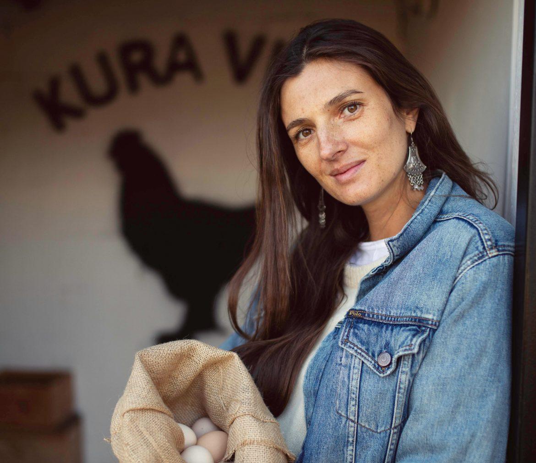 Kamila Szczawińska, modelka, psychodietetyczka, wegetarianka opowiada o życiu blisko natury.