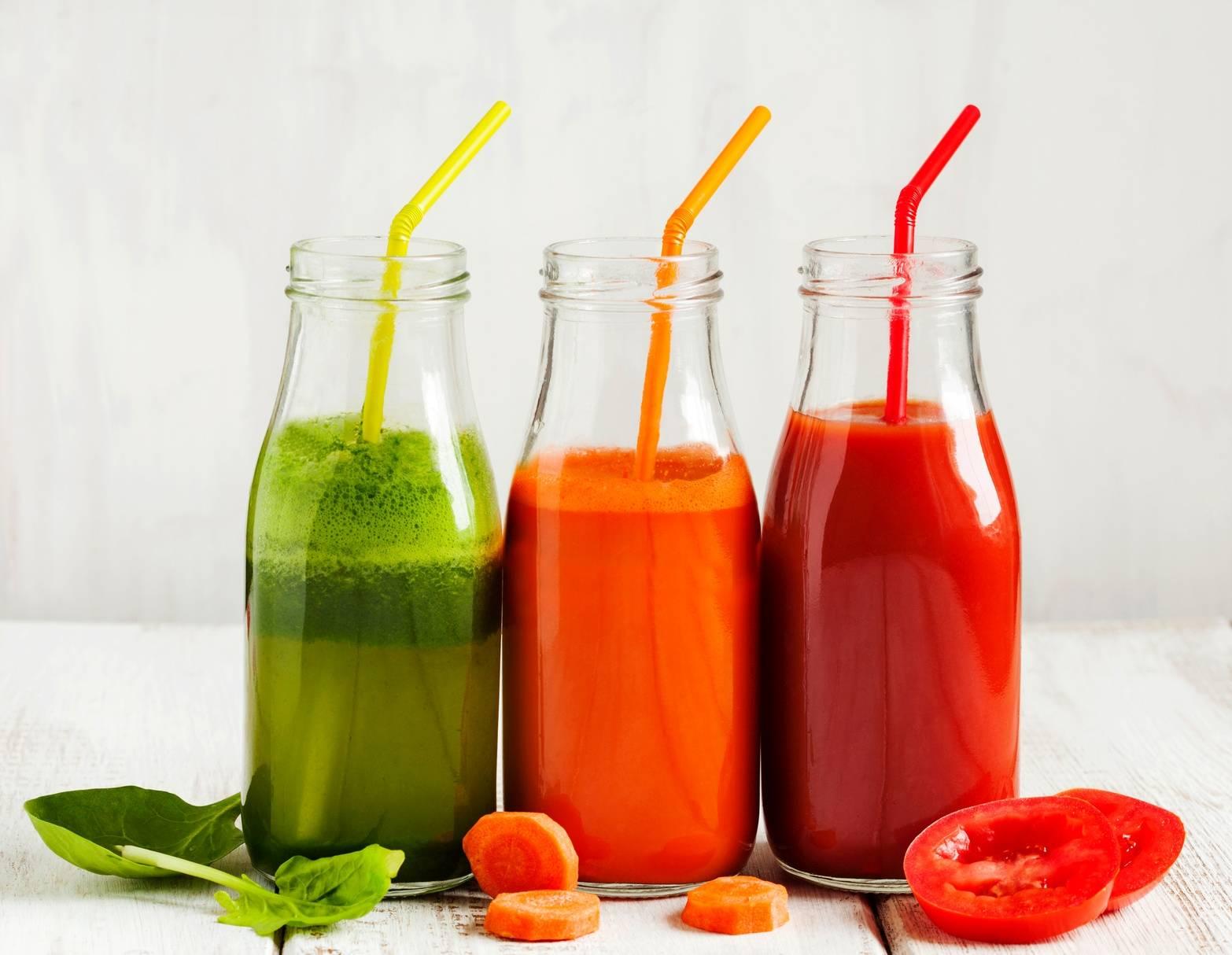 Sprawdź przepisy na soki z turbodoładowaniem - soki, koktajle i smoothie owocowo-warzywne.