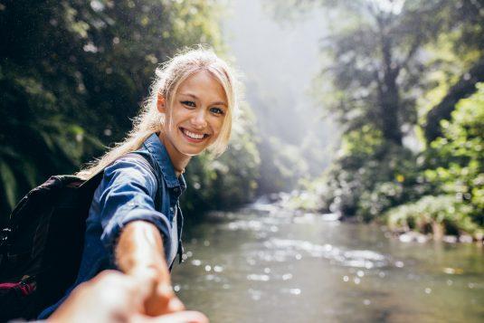 Kontakt z naturą obniża poziom stresu.