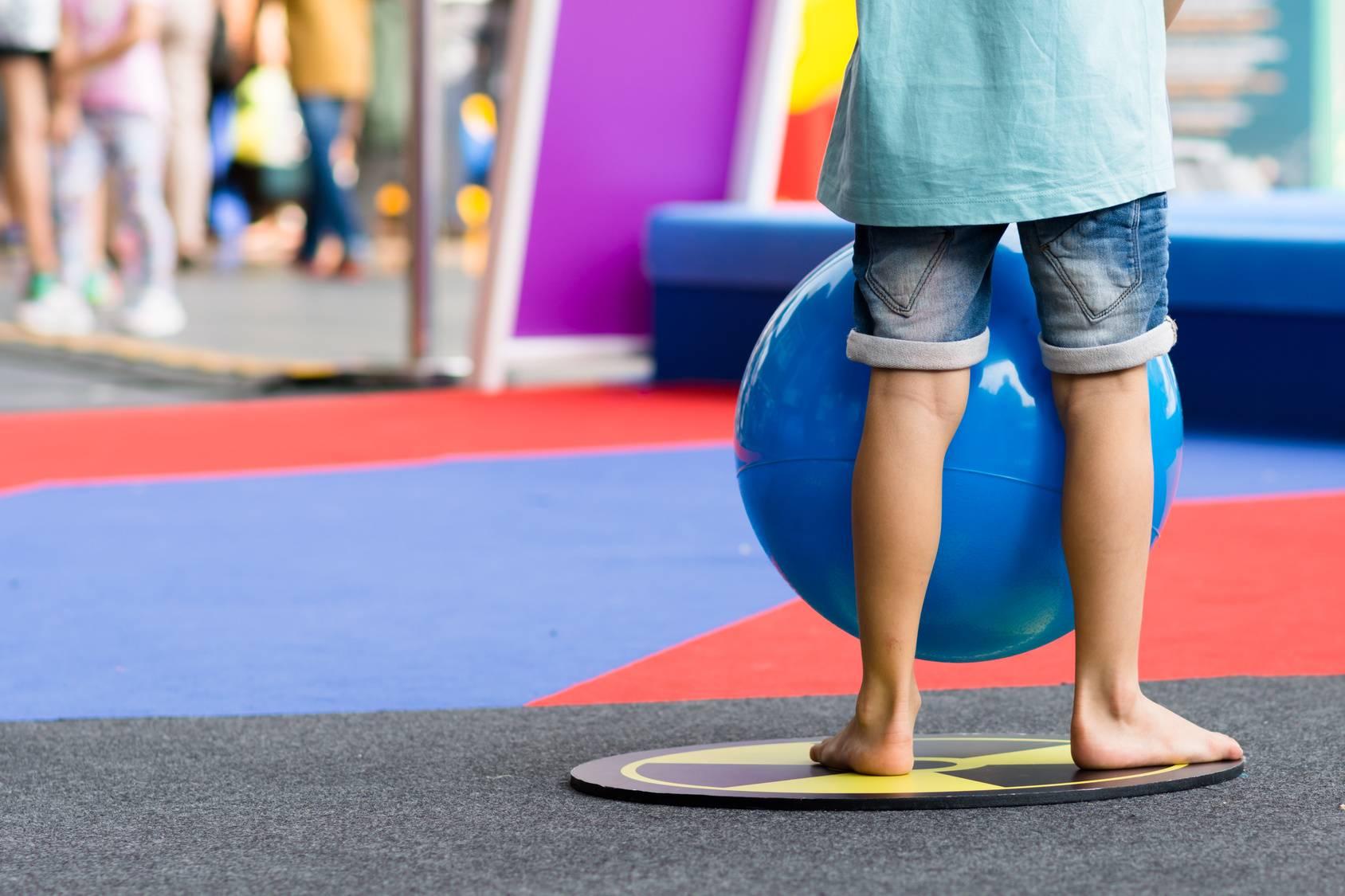 Zajęcia korygujące wady postawy u dzieci.