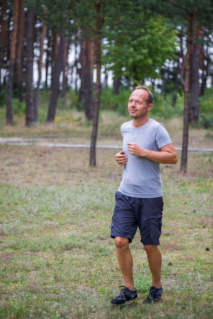 Maciej Kozakiewicz, autor książki Slow jogging