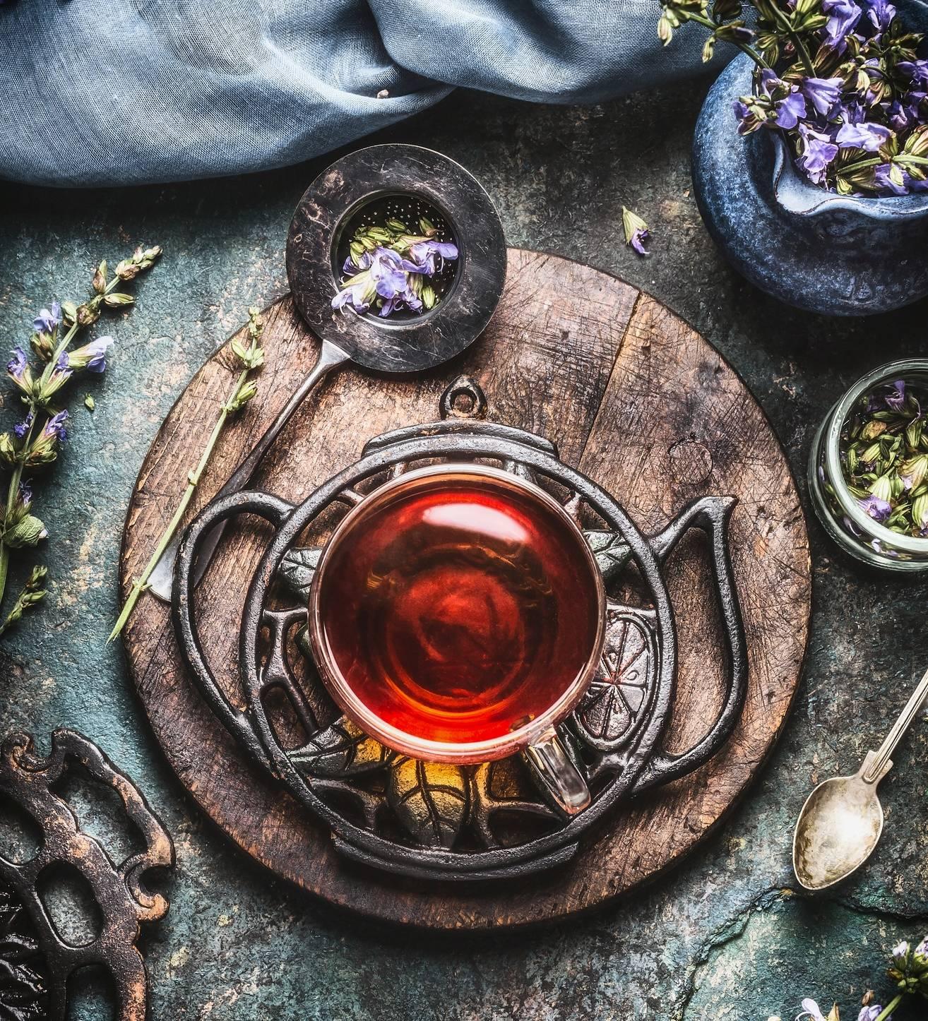 Herbatka wg receptury medycyny chińskiej.