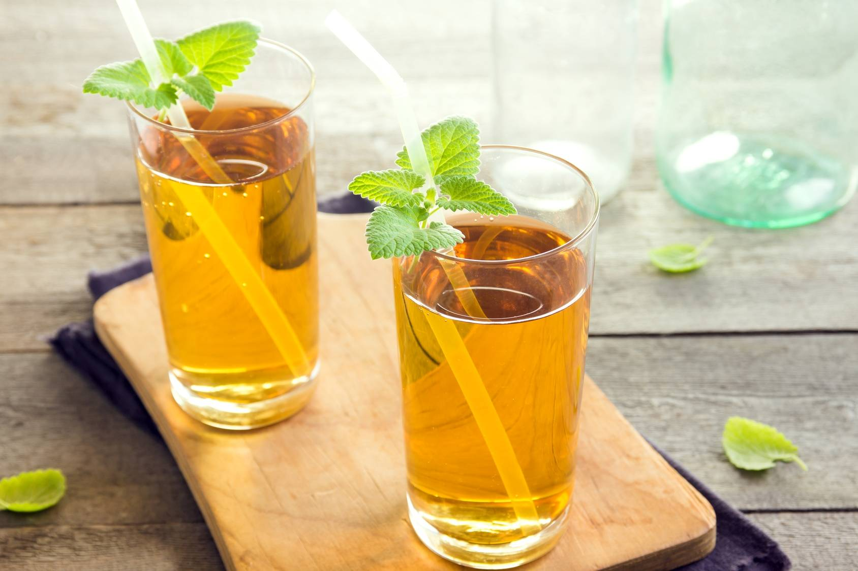 Herbata kombucha - naturalny probiotyk.