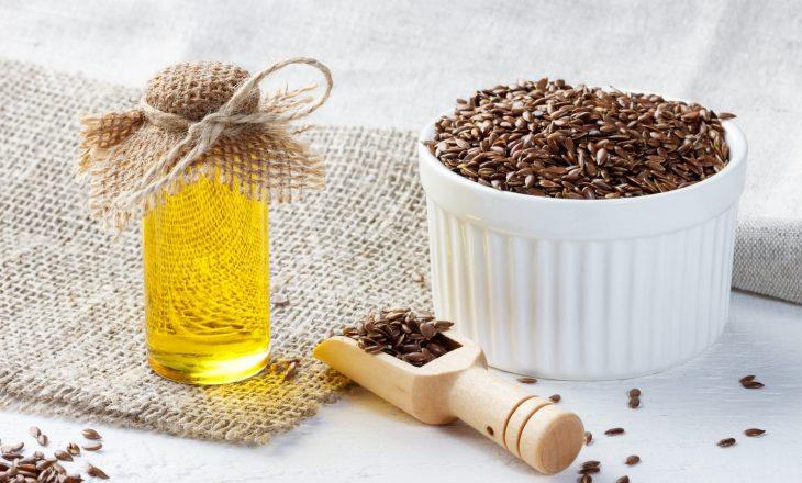 Siemię lniane - nasiona i olej lniany.