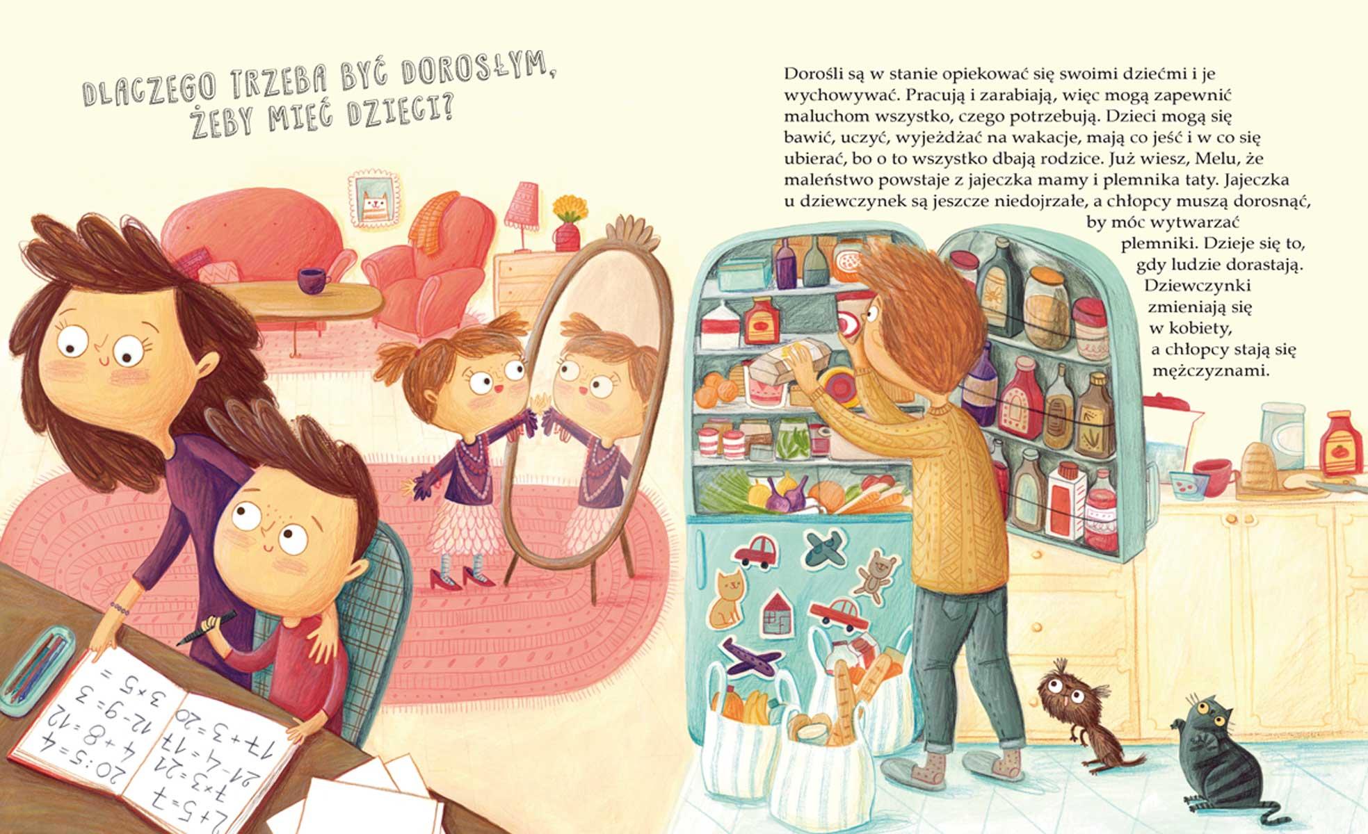 """Książeczka """"O maluchu w brzuchu, czyli skąd się biorą dzieci"""", autor: Marta Maruszczak"""