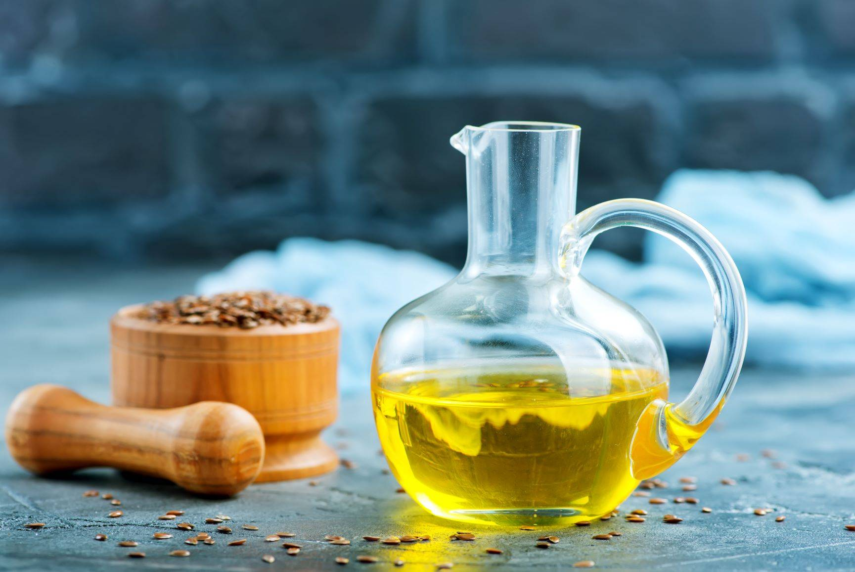 Kwasy omega-3 dla wegan - w oleju lnianym.
