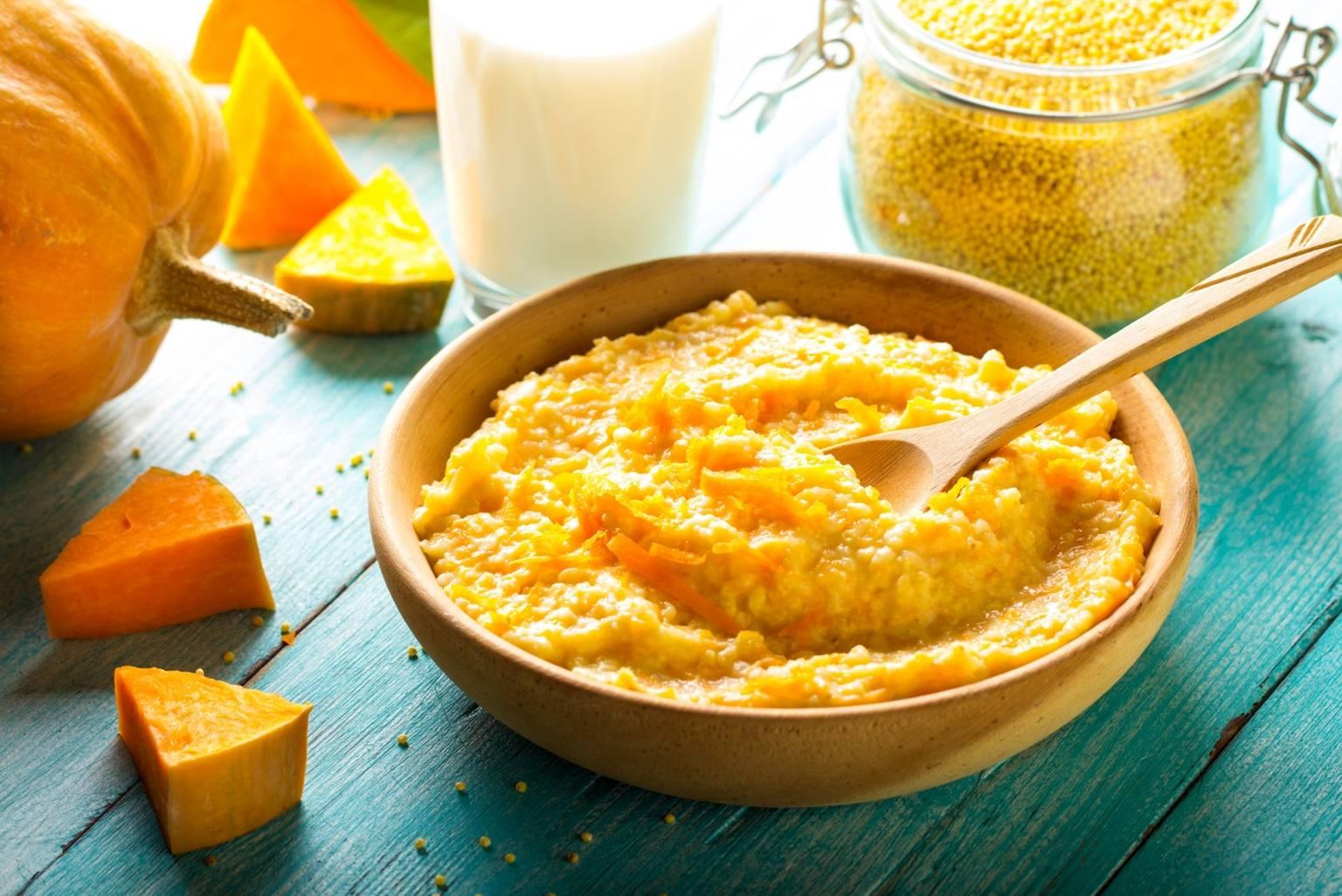 Co podawać dziecku do jedzenia podczas przeziębienia? Kasza jaglana jest lekkostrawna.