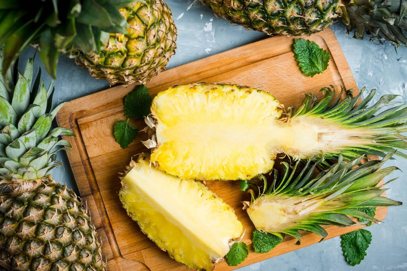 Ananas - właściwości i wartości odżywcze.