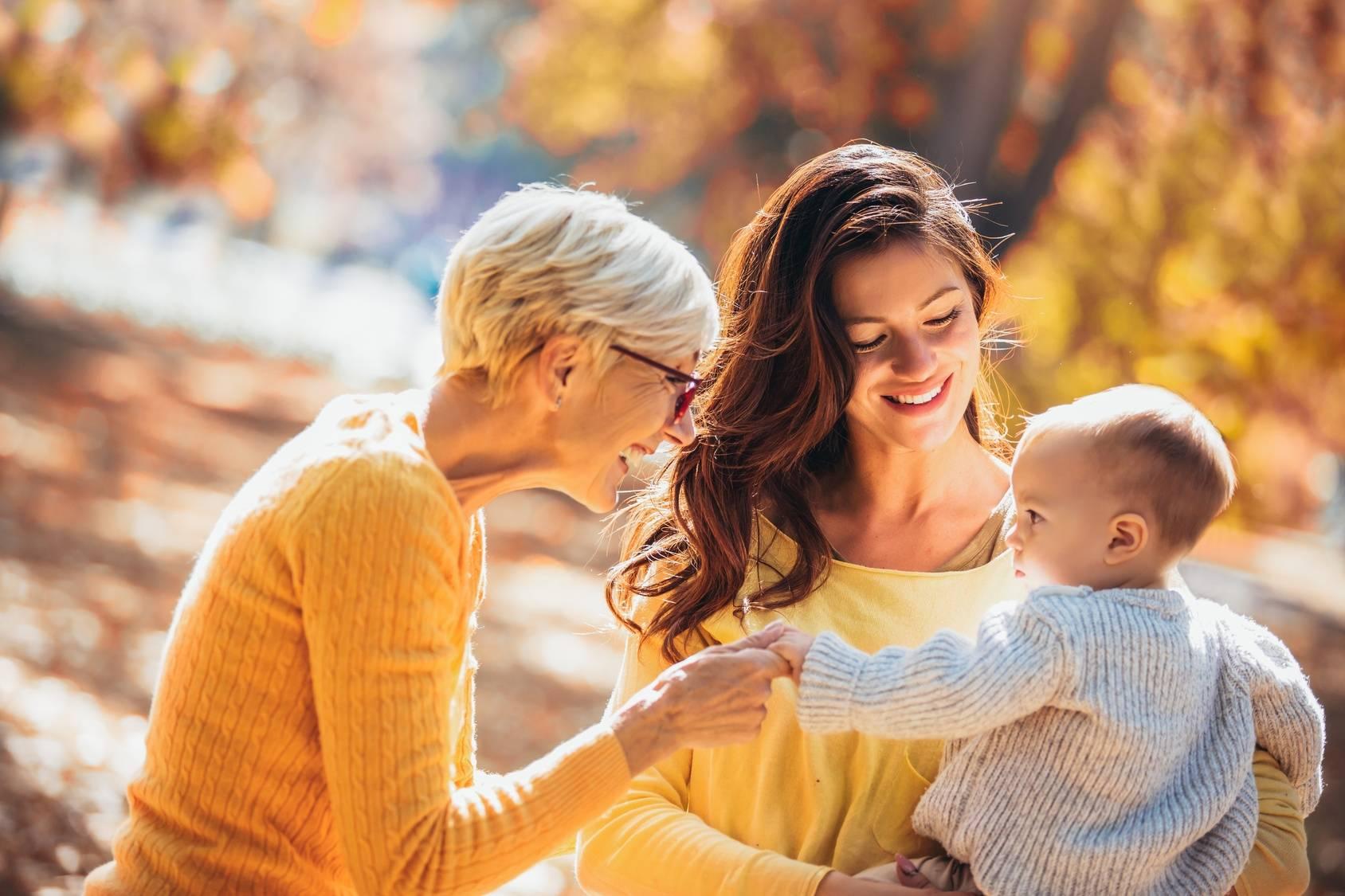 Relacje matka i córka - gdy córka zostaje matką.