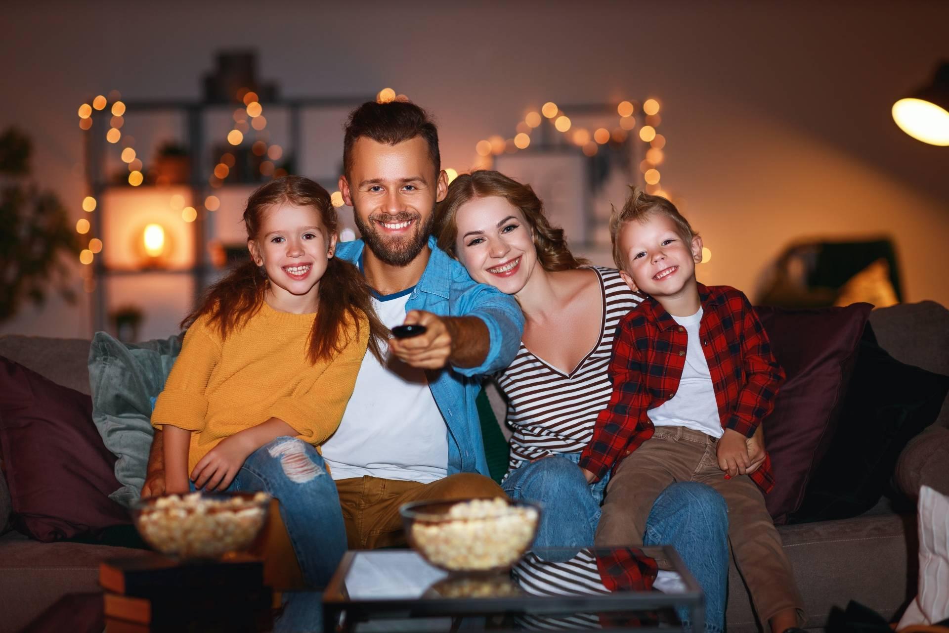 Filmy familijne dla dzieci i dorosłych.
