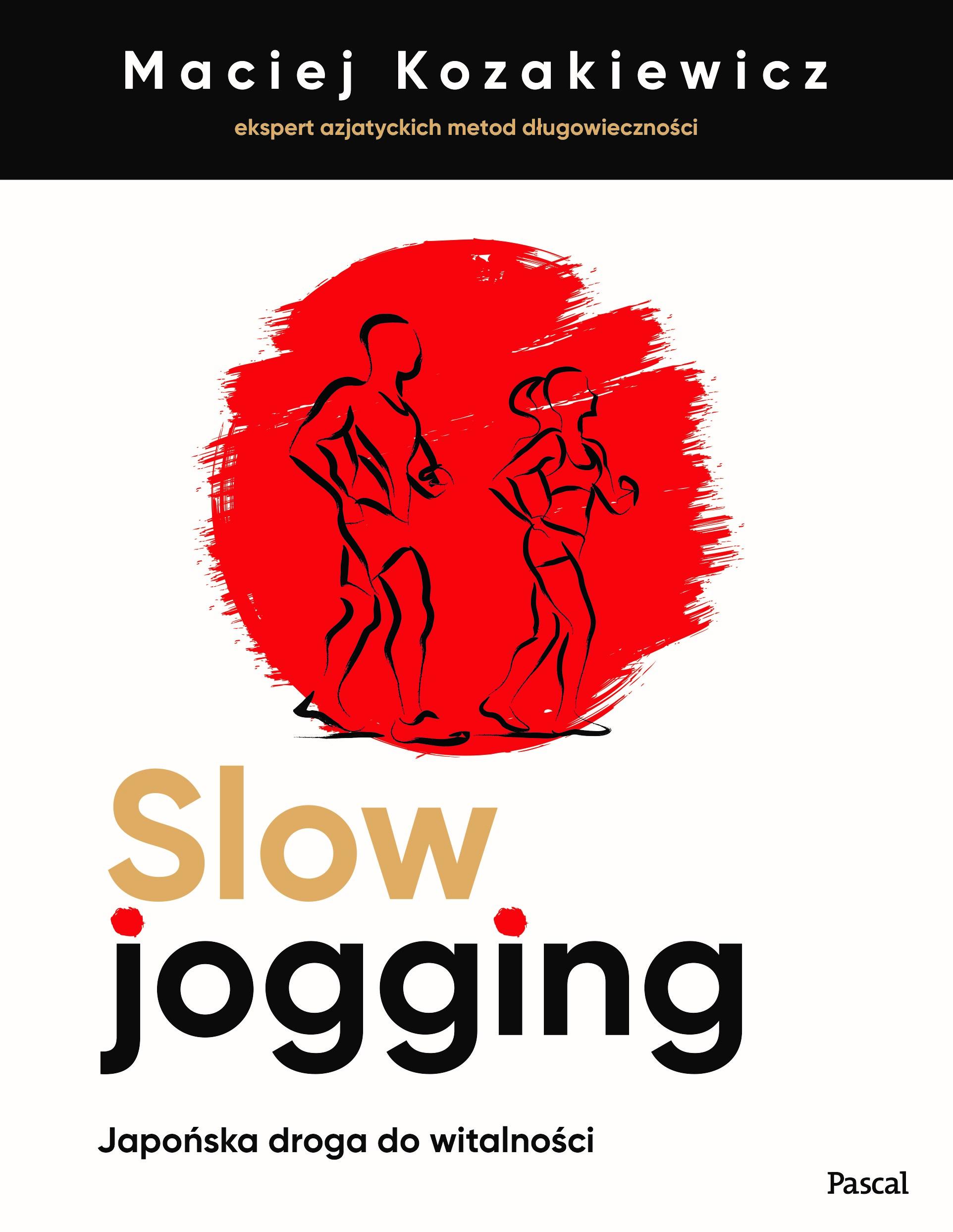 Maciej Kozakiewicz - Slow jogging - okładka książki.