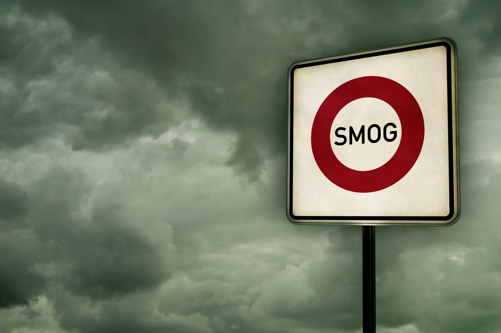 Smog w polskich miastach