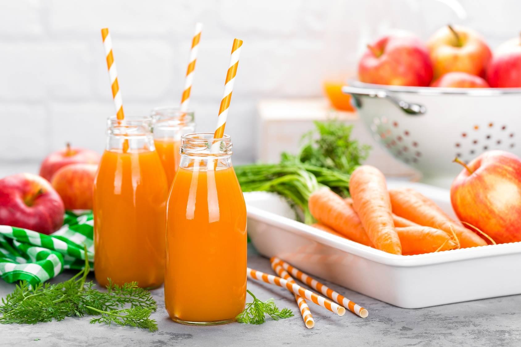 Co dziecko powinno pić podczas przeziębienia? Sok z marchewki.