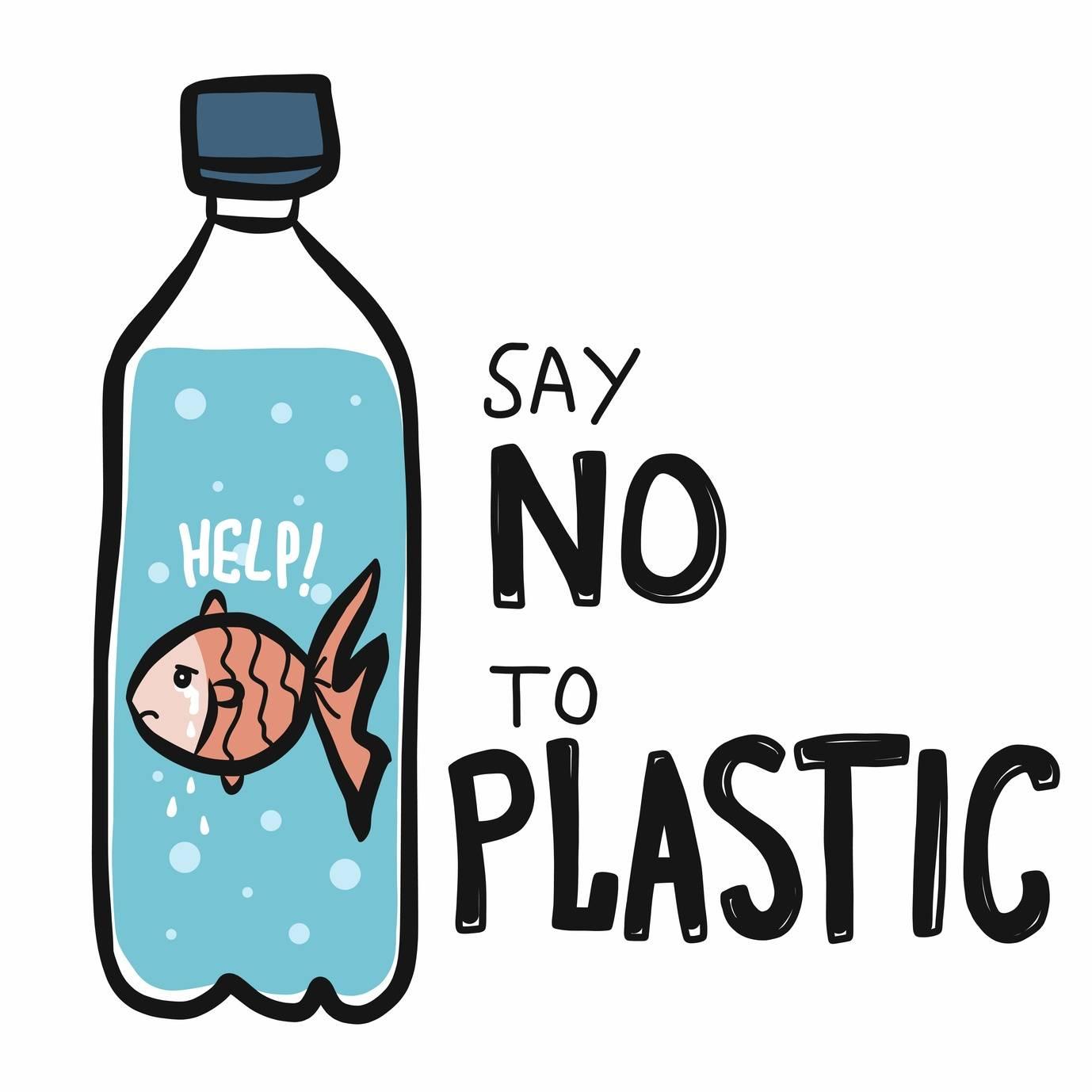 Czym zastąpić plastik? Powiedz nie plastikowi - grafika.