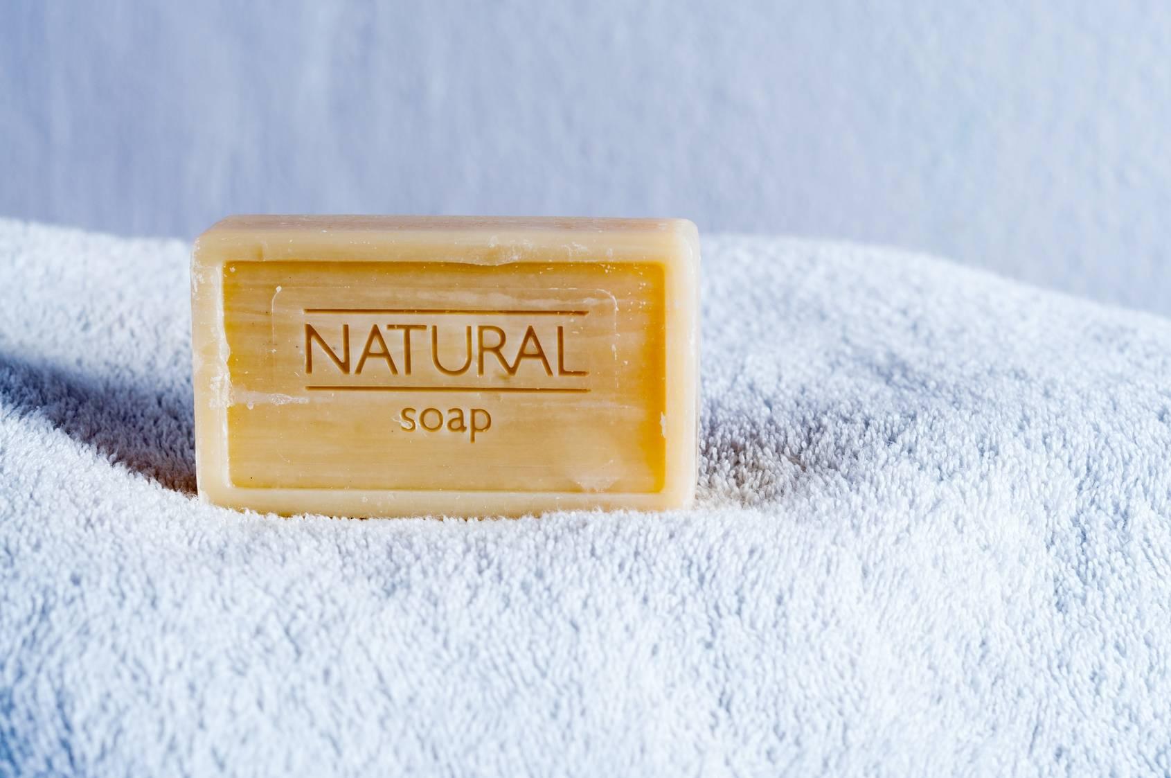 Naturalne mydło.