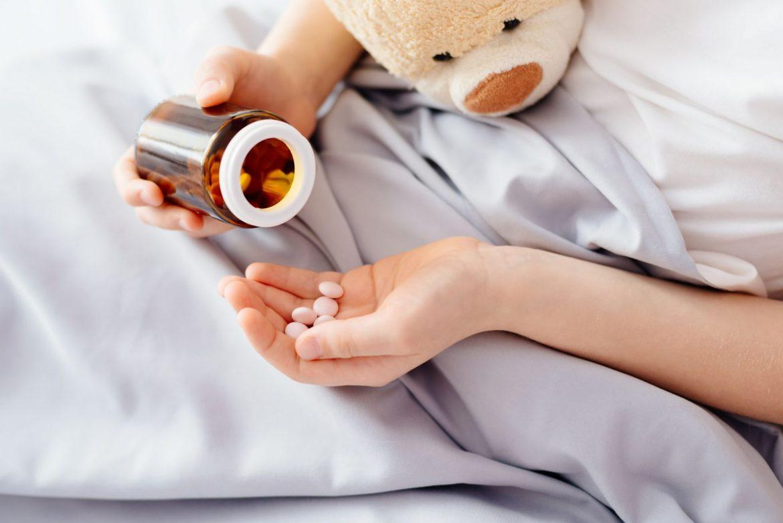 Uczulenie na leki u dzieci.