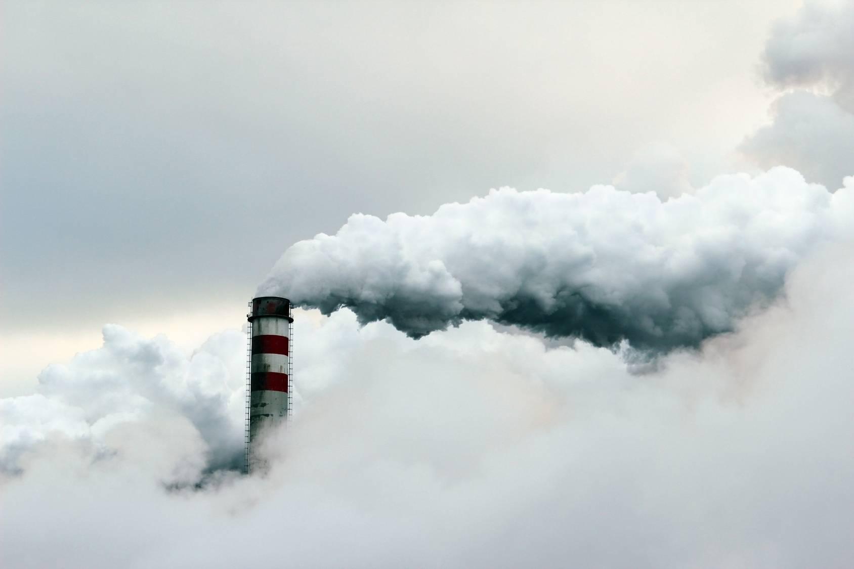 Smog - zanieczyszczenie powietrza.