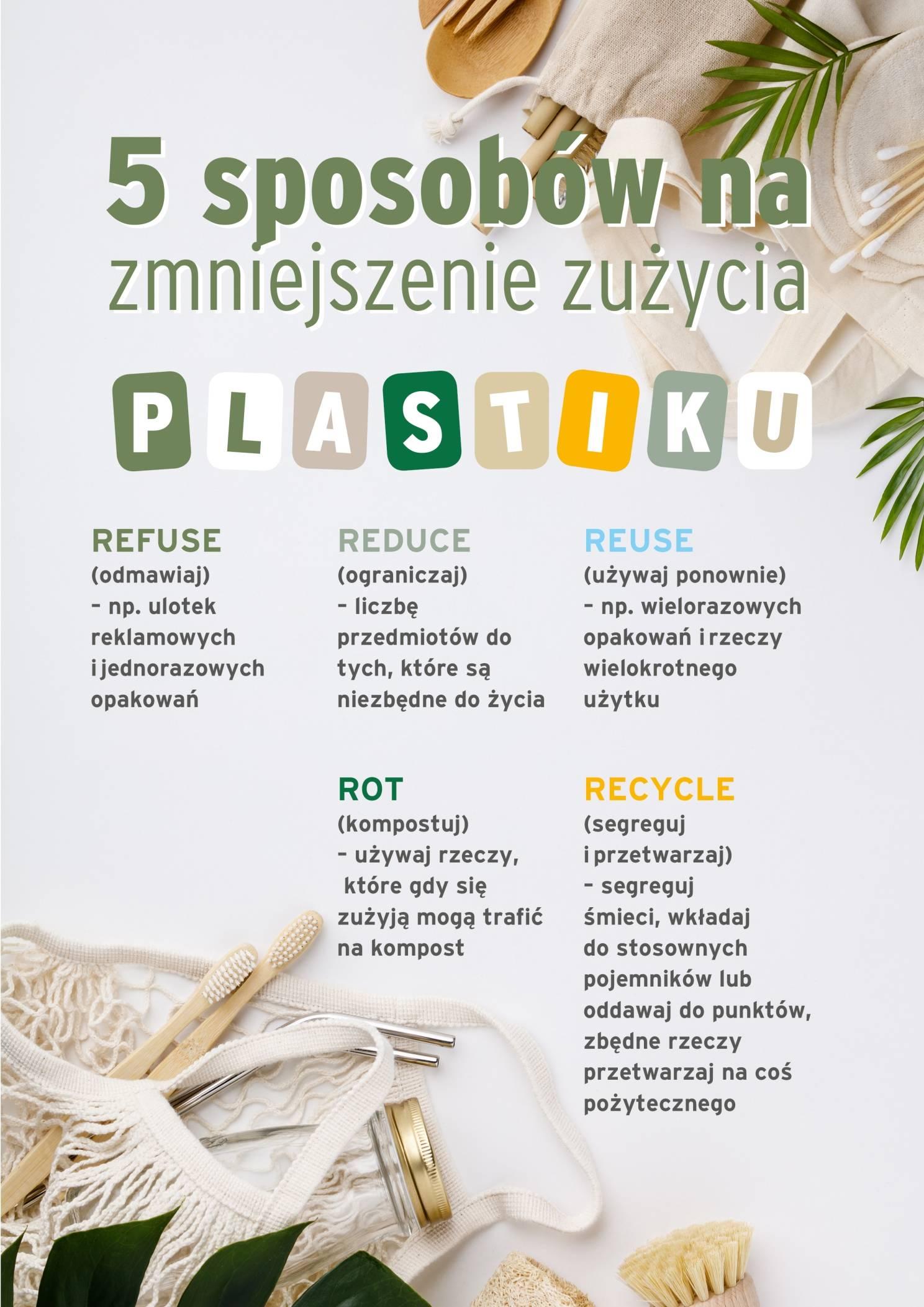 Zasady Zero Waste - jak używać mniej plastiku?
