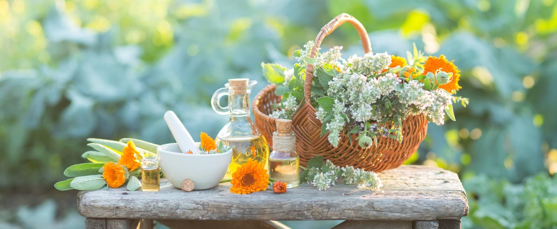 Leki homeopatyczne i ziołolecznictwo.