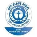 Znak Błękitny Anioł (Der Blaue Engel) - najstarszy symbol ekologiczny świadczący o bezpieczeństwie produktu.