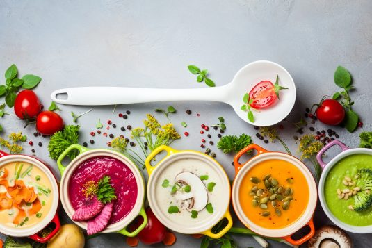 Rozgrzewające zupy na zimę.
