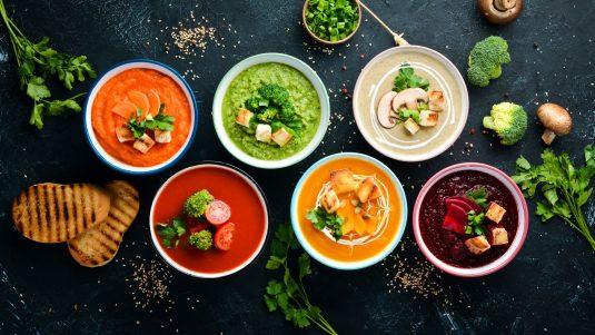 Przepisy na zupy na odporność.